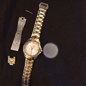 Bulova watch gold tone
